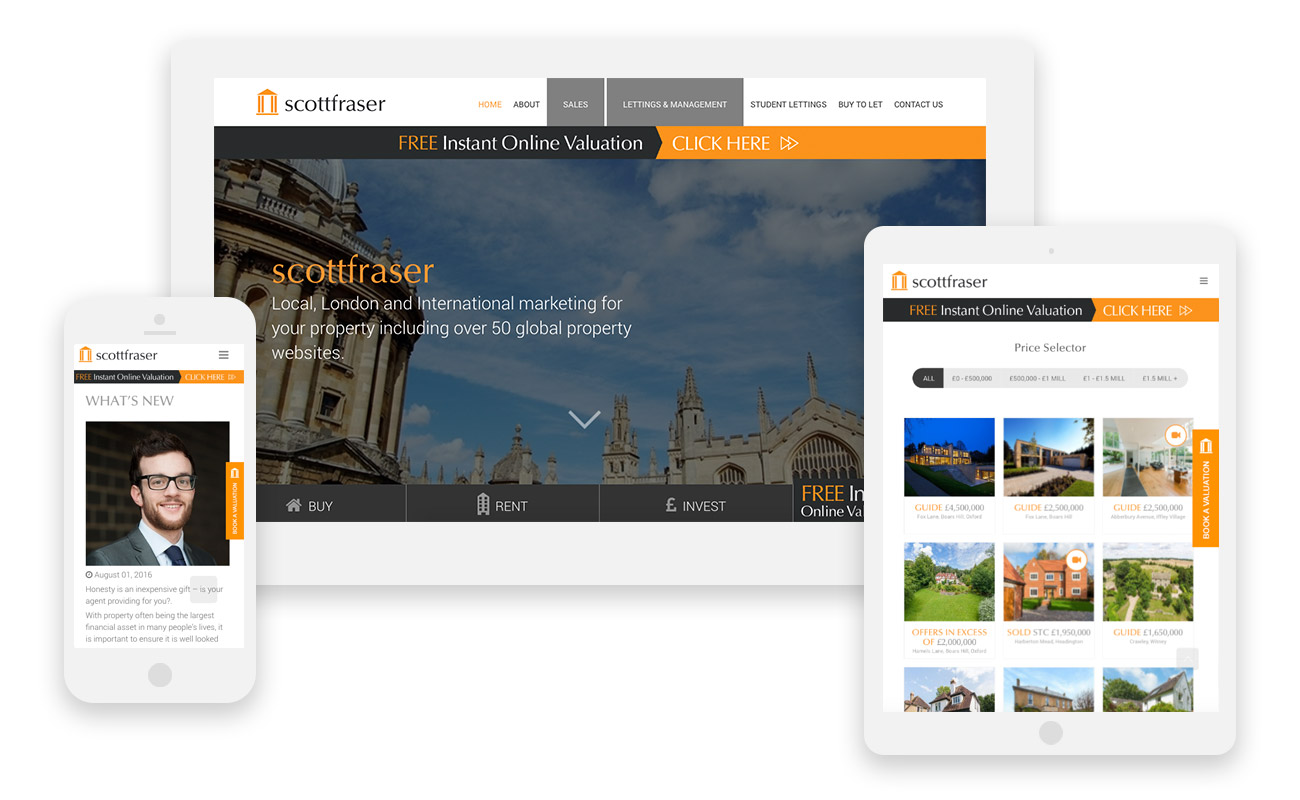 Scottfraser mobile friendly website oxford