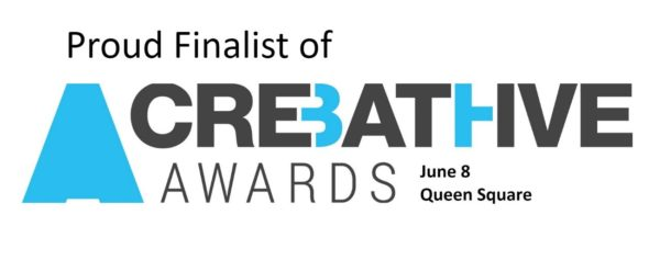 Proud Finalist of the Bath Creative Awards