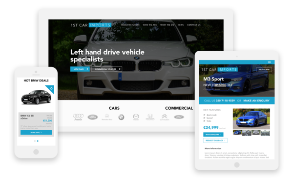 1st Car Imports Responsible Website