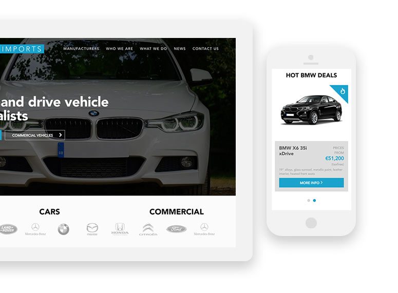 Responsive Website Car Websites
