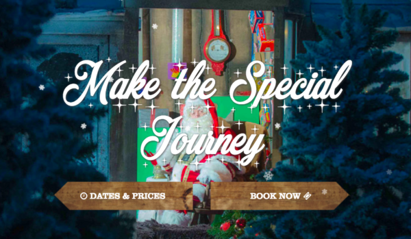 Avon Valley Christmas Experience - Booking tickets now