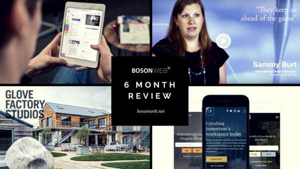 Boson Web - 6 month review blog post