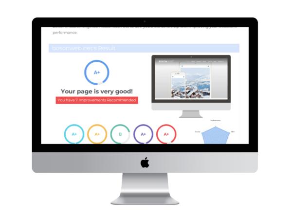 Boson Web - Website Performance Report
