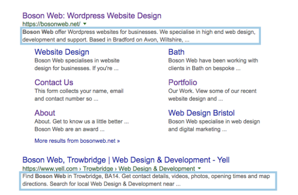 The importance of title tags and SEO